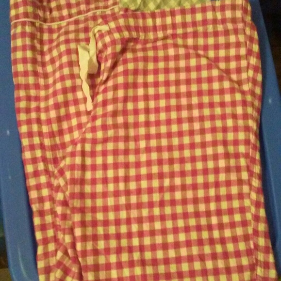 J. Crew Other - Just In J Crew Gingham Check Pajama Pants